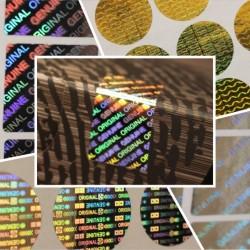هلوگرام سه بعدی عمومی خام طرح اورجینال