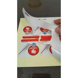 لیبل کاغذی چاپ دیجیتال
